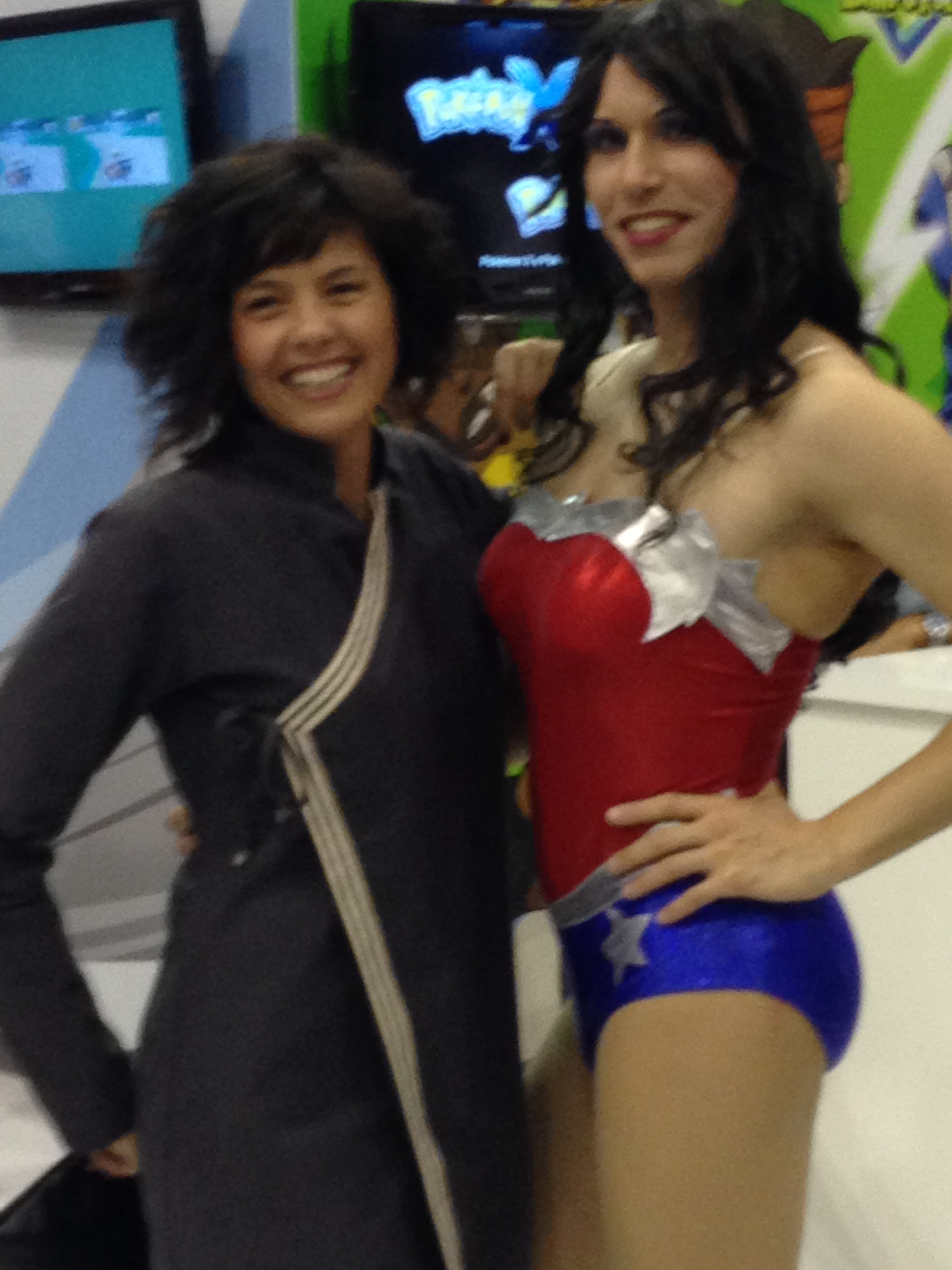 Ricordo del ROMICS: WONDER WOMAN non proprio WOMAN!