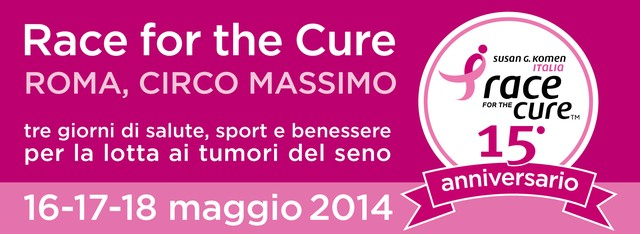 Torna la Race for the Cure di Roma