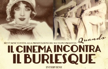 """Cineburlesque"" quando il cinema incontra il Burlesque"